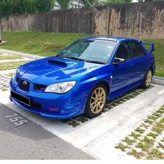 Subaru Impreza STI 4D 2.5 Manual