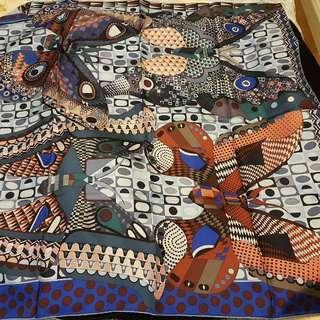 Genuine Hermes silk scarf