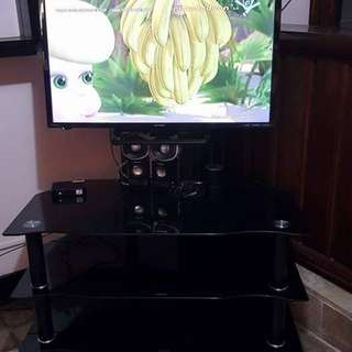 tv rack with led tv bracket