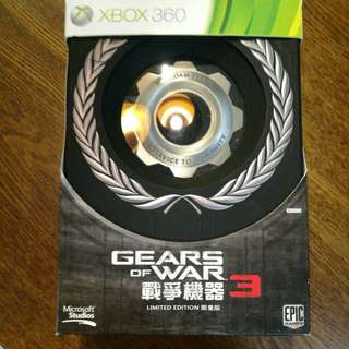Gear of war 3 limited edition full set woth box