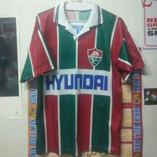Vintage HYUNDAI 現代汽車 足球衣 古著
