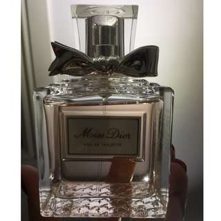 Miss Dior Eau de Toilette Spray 100ml demonstrator bottle