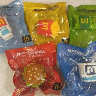Nano Block (McDonald's Food Icons)