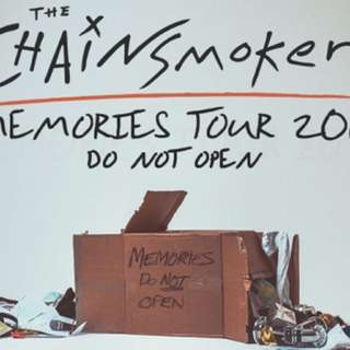 Chainsmoker Memories Do Not Open Tour