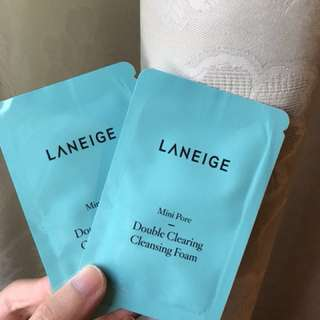 Laneige Double Clearing Cleansing Foam