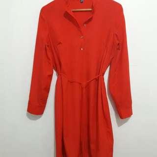 LS Red Dress