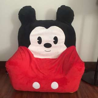 Disney Inflatable Mickey Mouse Chair For Toddler Kid 9.5/10