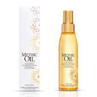L'Oréal mythic hair oil (rich)