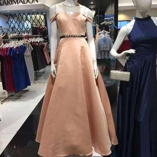Karimadon gown (peach)