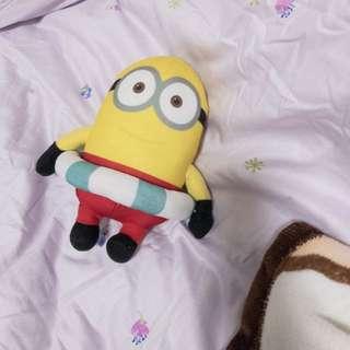 Minion Plush Toy 迷你兵公仔