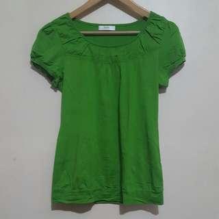Green Iora Blouse (L)
