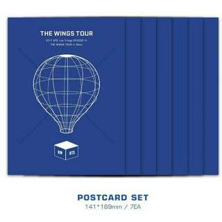 [LOOSE] BTS BLURAY POSTCARD SET
