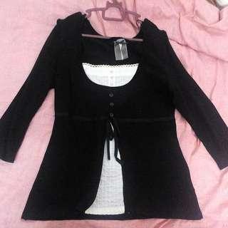 Black Top - UK Size 15