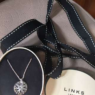 Links Dream Catcher Necklace