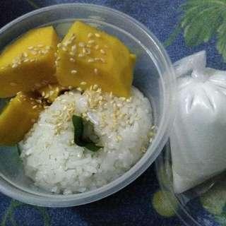 Manggo stiky rice
