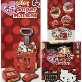 全新Kitty mini超級市場 價格:300 運:60(店到店)