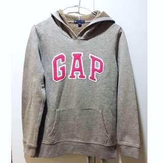 Gap 灰色粉字連帽上衣