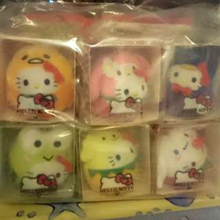 100% NEW - Hello Kitty McDonald Set -套六隻連環保袋 (2016年版)