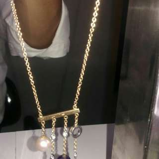 Gold neckless diamond 18k