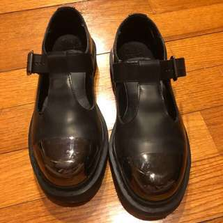 Dr.martens Grab Mary Jane 黑色 瑪莉珍