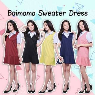 BAIMOMO SWEATER DRESS