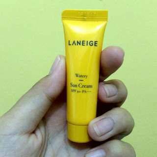Sun Cream Laneige Sampe Size