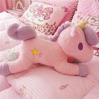 Fluffy Unicorn Candy colours