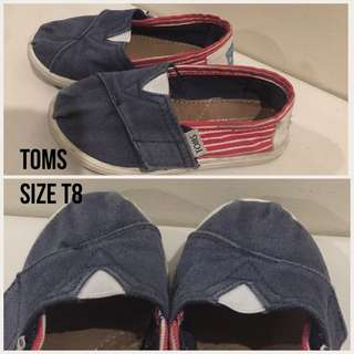 Pre-loved Toddler shoes (Toms and Mothercare)