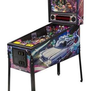 2016 ghostbuster pinball machine - like new