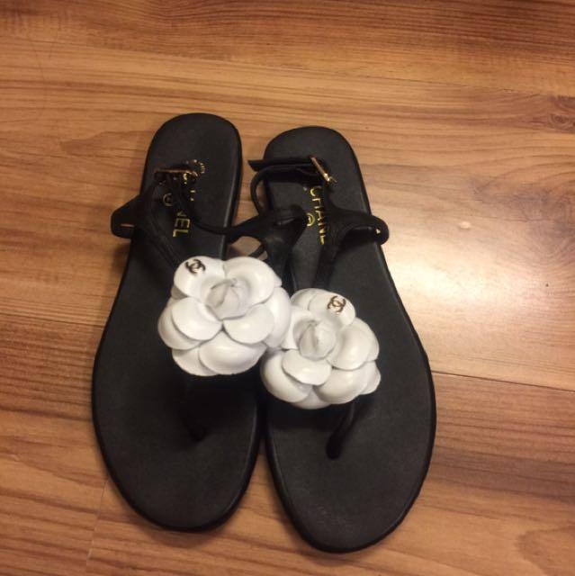 真皮涼鞋(37號)