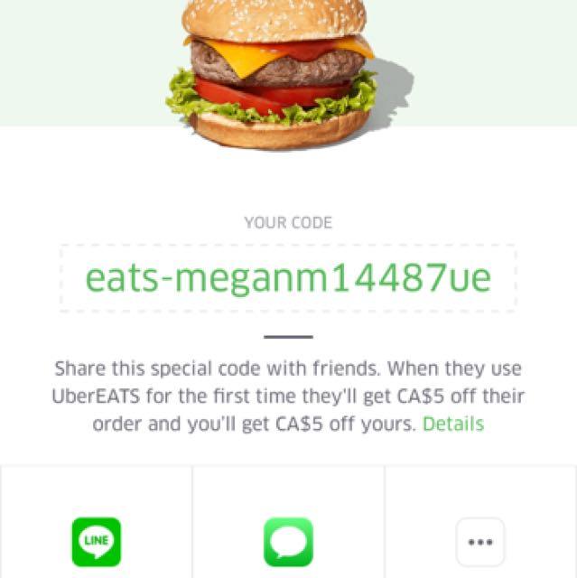 $5 UBER EATS CODE