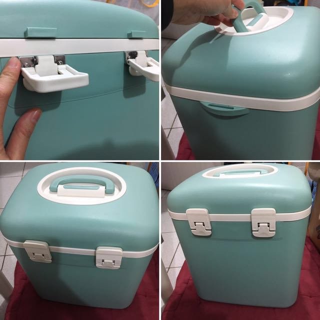 日製 保冰桶/coolbox/攜帶式冰桶20L 含背帶/露營專用餐具/器皿