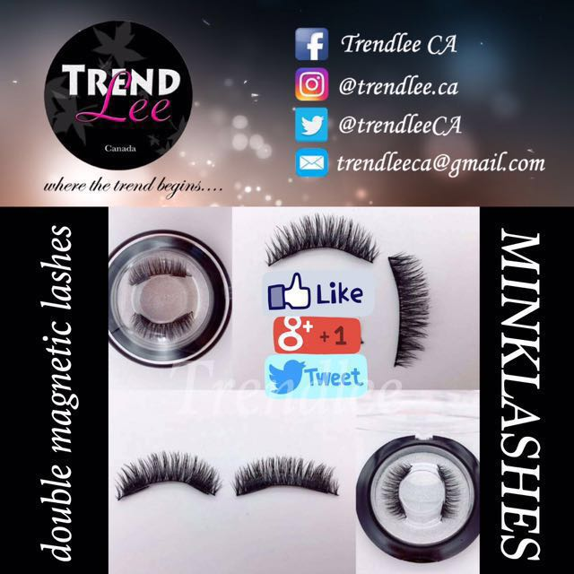 ‼️ FULL MINK DOUBLE MAGNETIC LASHES ‼️