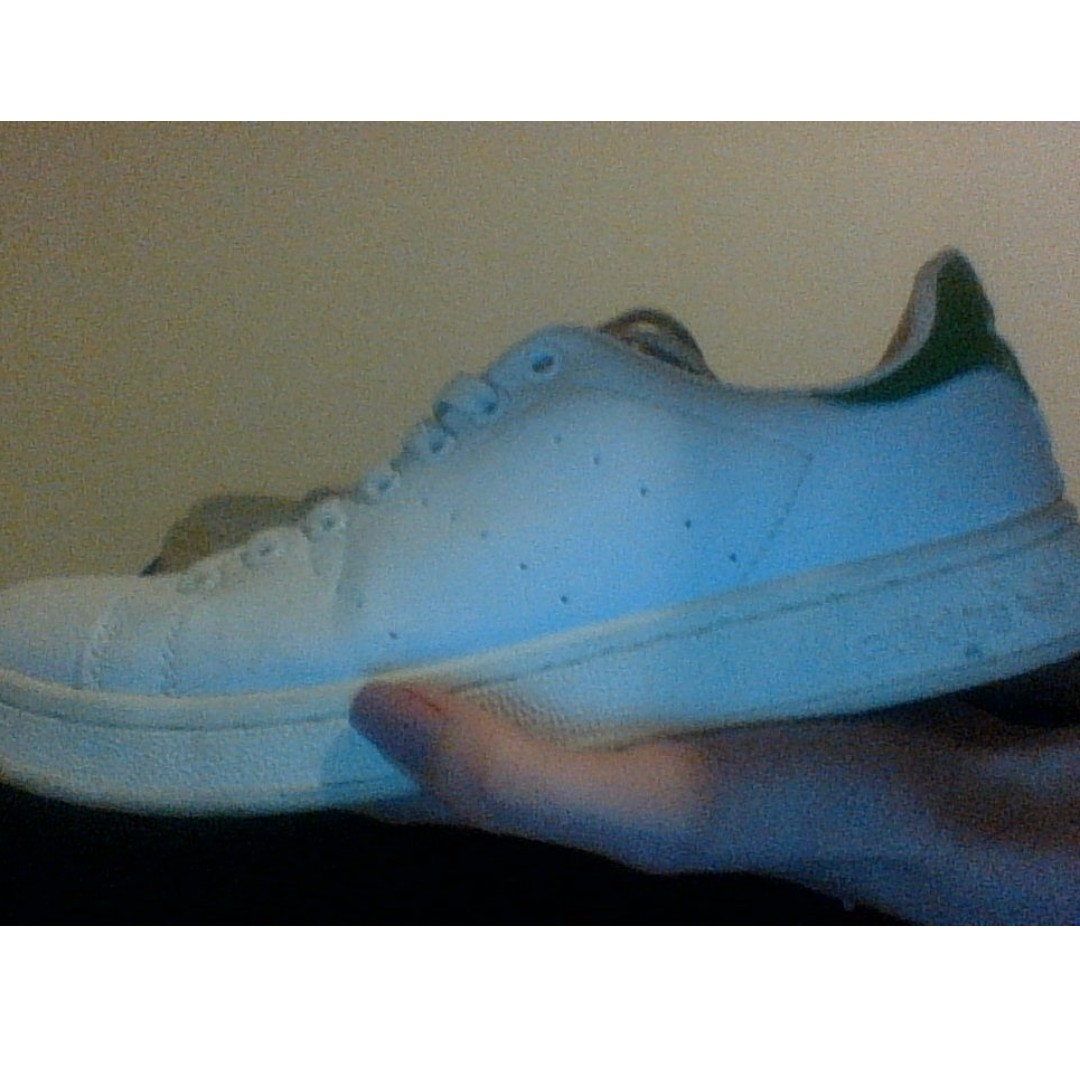 Adidas stan smith green shoes