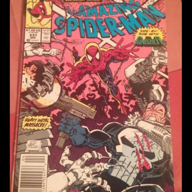 Amazing spiderman comic