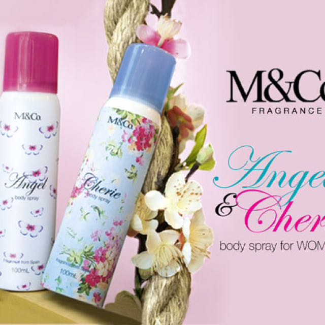 Angel and Cherie Body Spray