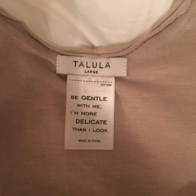 Aritzia TALULA Gloria Gold Sequin Tank - Large