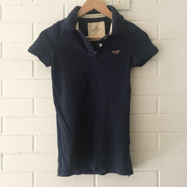 Authentic hollister polo tee