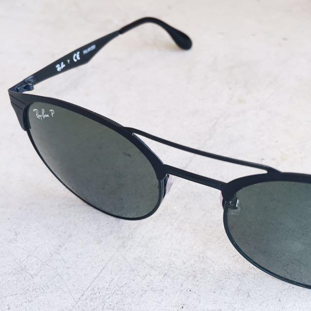 Authentic RayBan Black Polarized Sunglasses