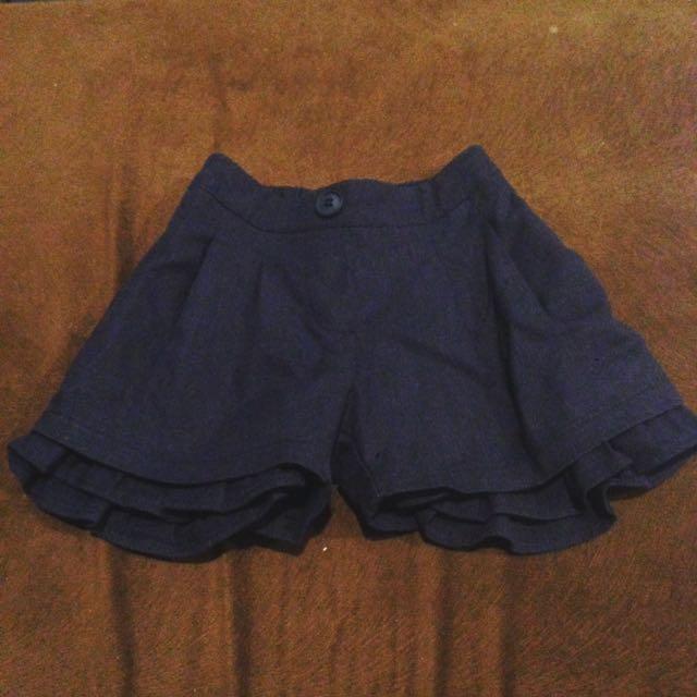 Baby girl short pants