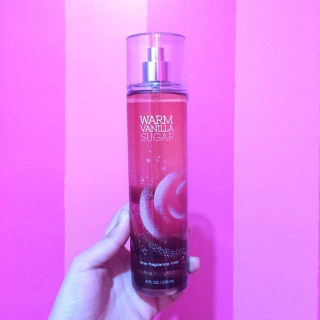Bath and Body Perfume in Warm Vanilla Sugar