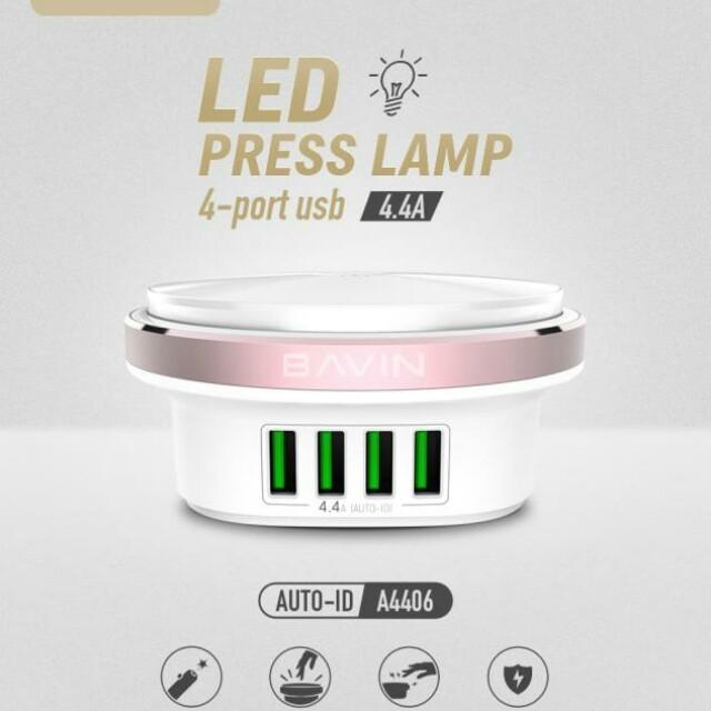 Bavin Lamp Press Charger