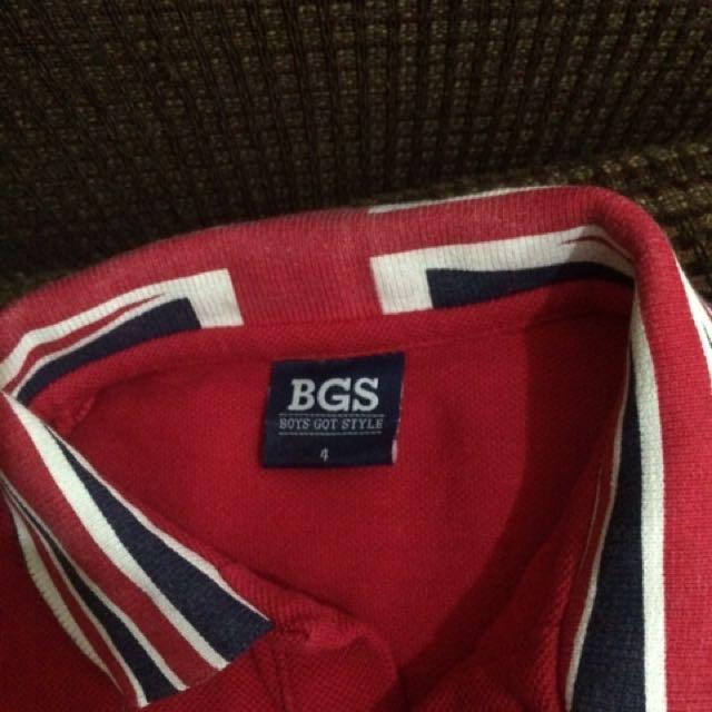 Bgs Polo Shirt (4T)