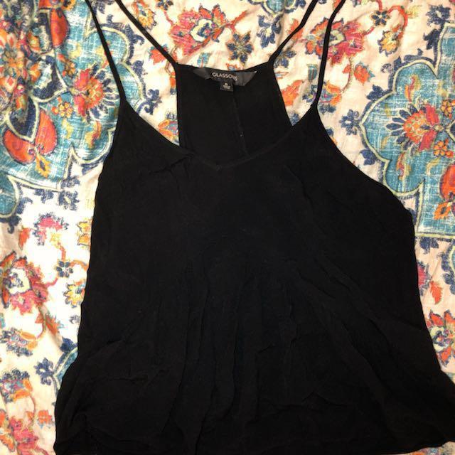 Black glassons shirt