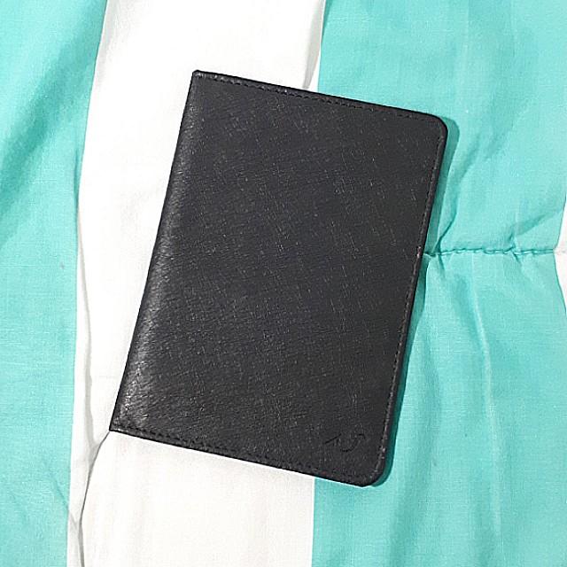 Black Passport Holder