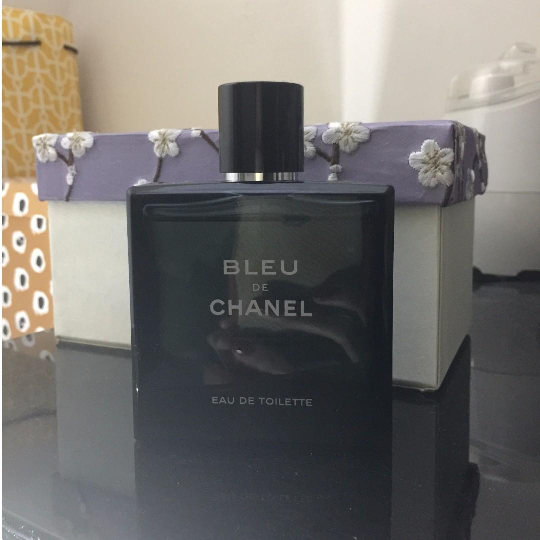 Bleu De Chanel Eau De Toilette 100ml Demonstrator Bottle Health