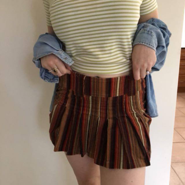 Block Vintage Skirt