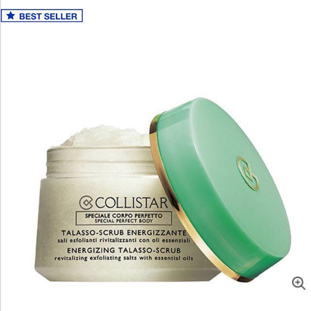 BNIP Collistar Body Scrub bestseller