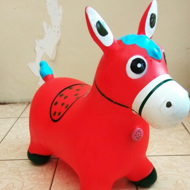 Disc. 20%!!! 😱Bouncy Horse Kuda-kudaan