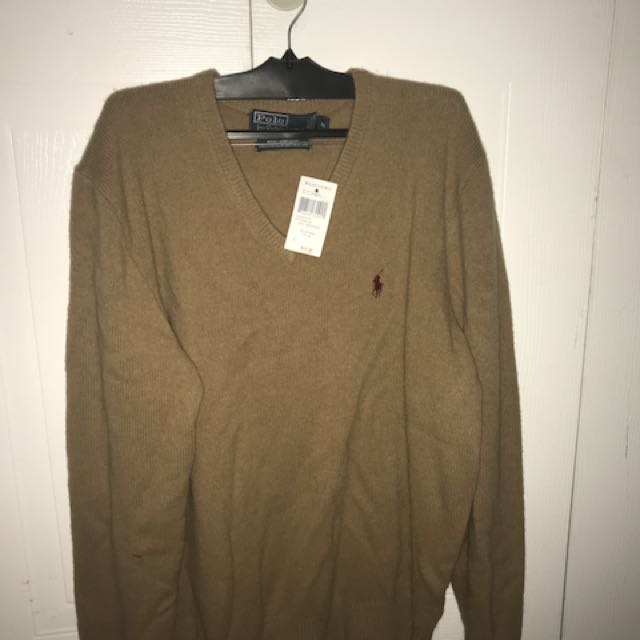 Brand new men's Ralph Lauren knit sweater